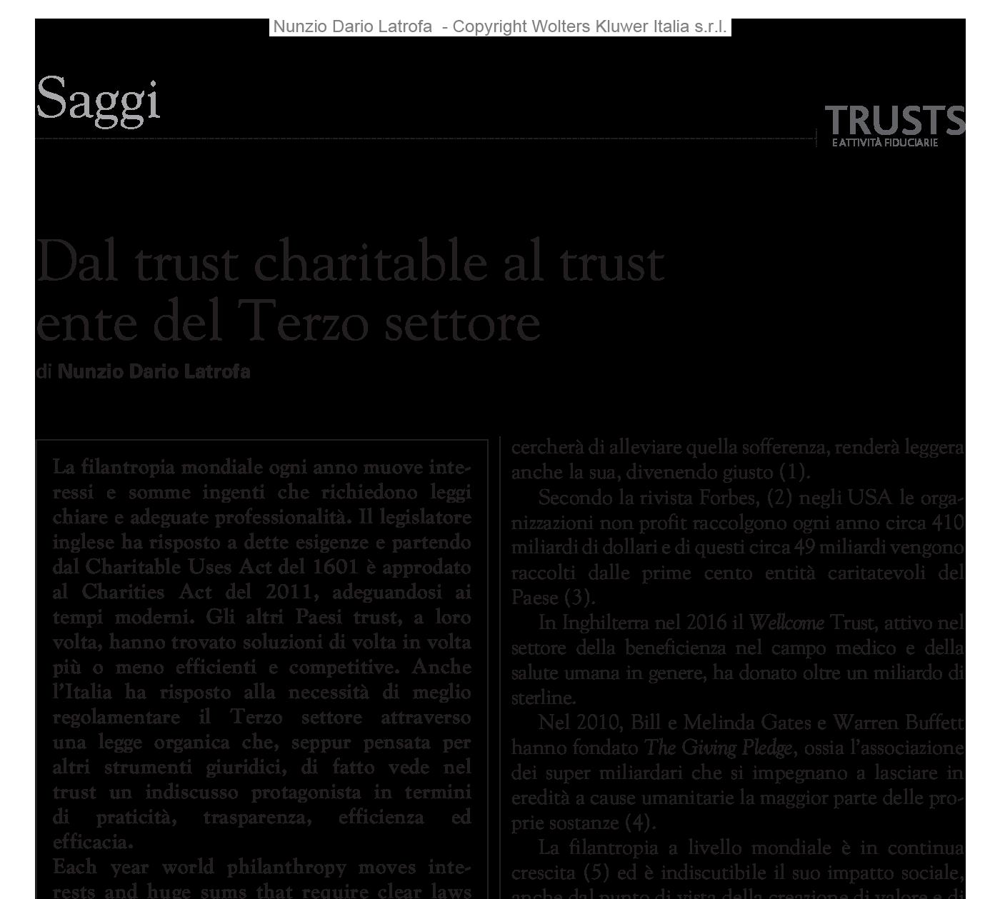 DAL-TRUST-CHARITABLE-AL-TRUST-ENTE-DEL-TERZO-SETTORE